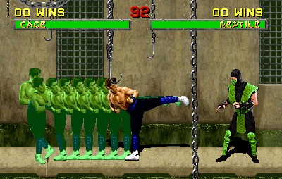 Shadow Kick - Mortak Kombat 2