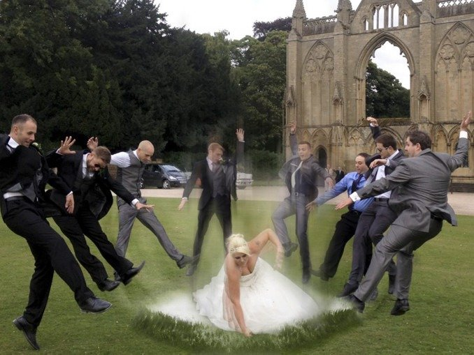 Wedding Punch Explosion