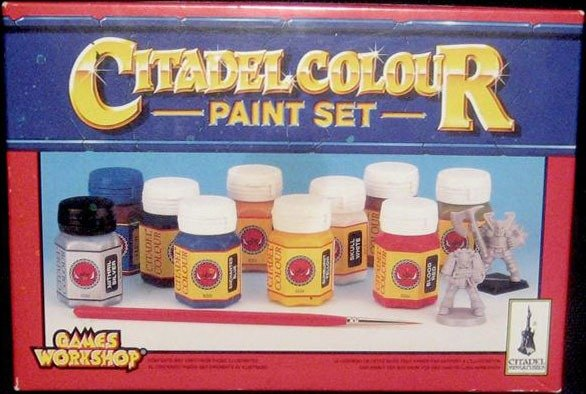 Classic Games Workshop Citadel Colour Paint Set
