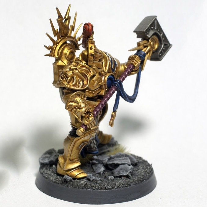Painting Stormcast Eternals - Retributor