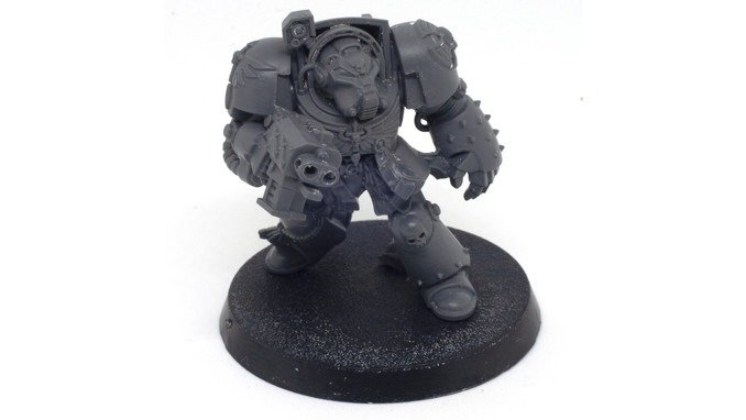 Wie man Miniaturen abstreift - Deathwing Terminator