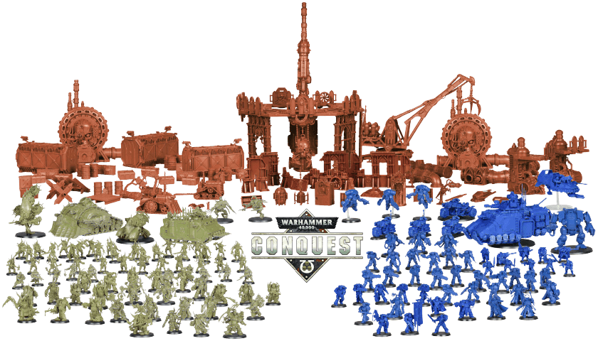 Warhammer Conquest Magazine Review