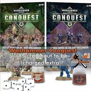 Warhammer Conquest is about to charge you extra!