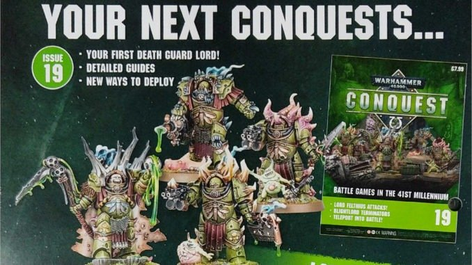 Warhammer Conquest Issues 19 & 20 Contents