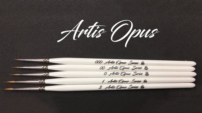 Best Brushes for Painting Miniatures 2019 - Artis Opus