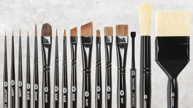 Best Brushes for Painting Miniatures 2019 - Games Workshop