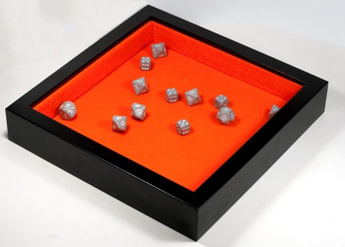 Cheap DIY Dice Tray