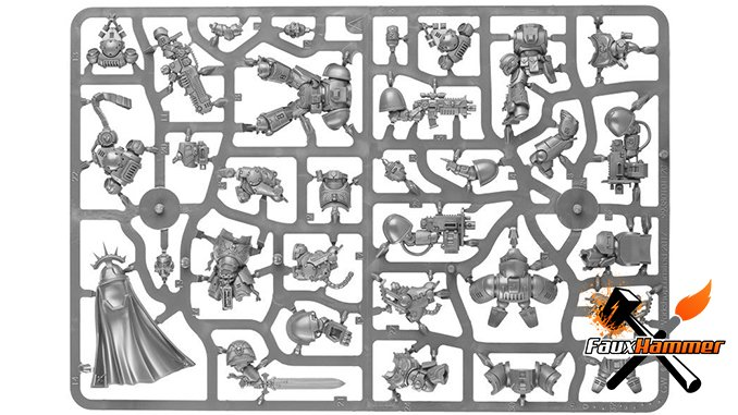 Warhammer Conquest Full Contents Issue 29 - Dark Imperium Sprue A
