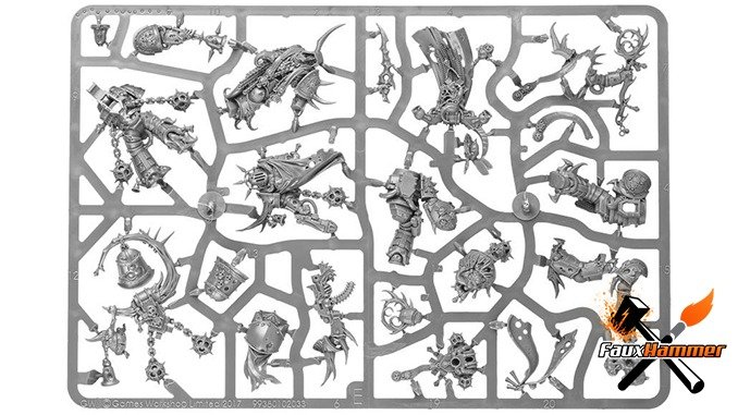 Warhammer Conquest Full Contents Issue 46 - Dark Imperium Sprue E