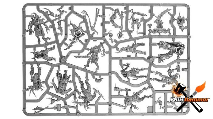 Warhammer Conquest Full Contents Issue 60 & 63 - Dark Imperium Sprue D
