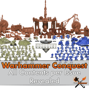 Full Warhammer Conquest Magazine Contents