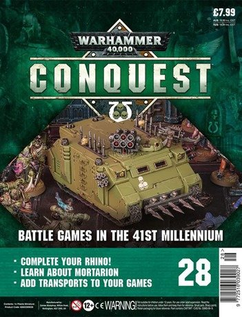 Warhammer Conquest Issue 28 Cover Contents