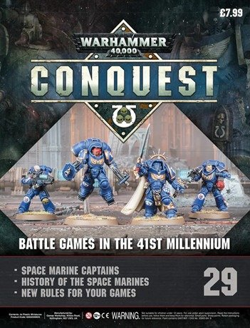 Warhammer Conquest Issue 29 Cover Contents