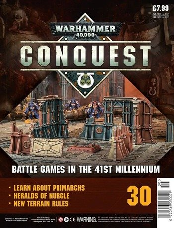 Warhammer Conquest Issue 30 Cover Contents
