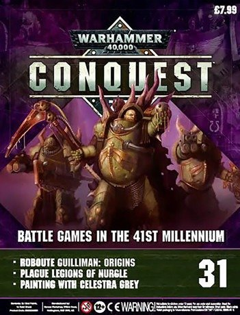 Warhammer Conquest Issue 31 Cover Contents