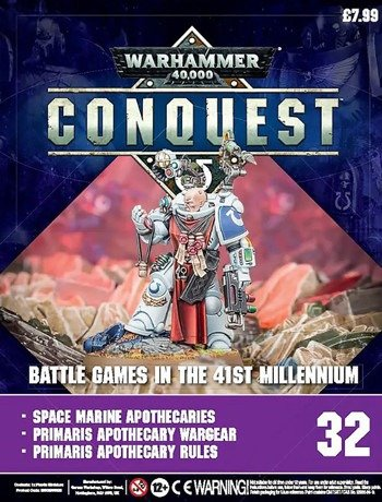 Warhammer Conquest Issue 32 Cover Contents