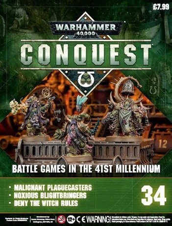 Warhammer Conquest Issue 34 Cover Contents
