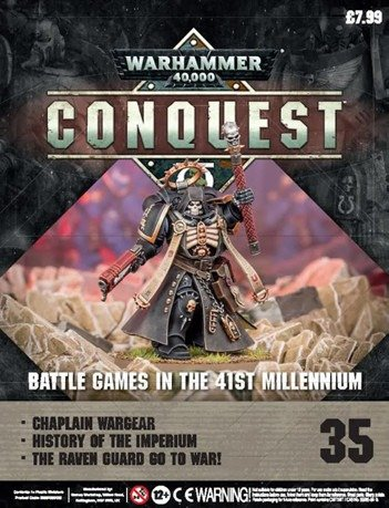 Warhammer Conquest Issue 35 Cover Contents