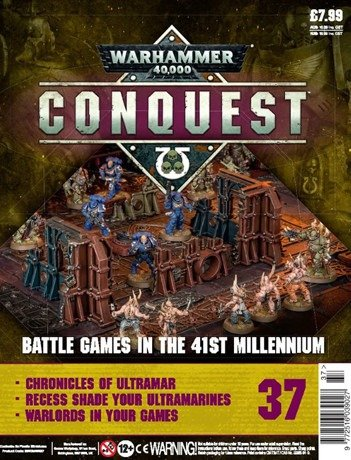 Warhammer Conquest Issue 37 Cover Contents