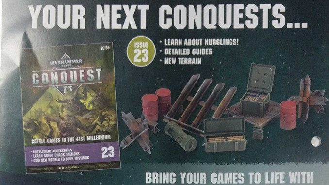 Warhammer Conquest Issues 23, 24 & 25 Contents