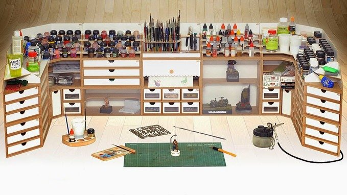 Best Hobby Tool Storage for Miniature Painters & Wargames Models
