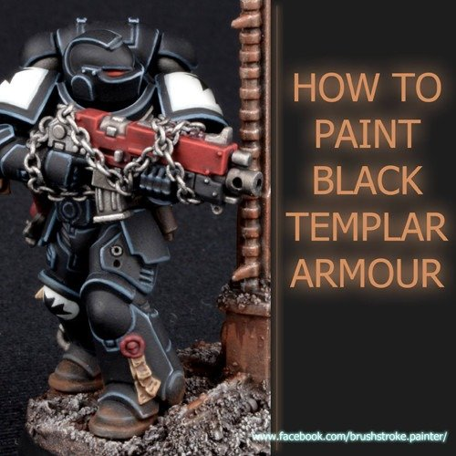 How to Paint Black Space Marine Amour