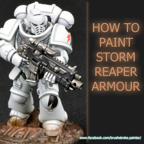 How to Paint White Space Marine Amour