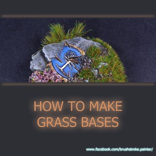 How to make Grass Bases for Miniatures