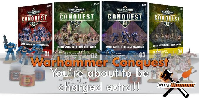 PSA: Warhammer Conquest is about to charge you extra!