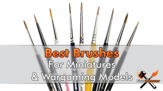 Top 10 - Best Brushes for Painting Miniatures - 2019