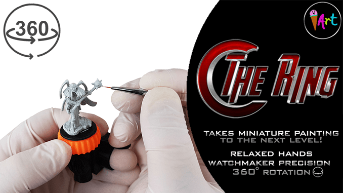 First Look - The Ring - Miniature Painting Handle - Upcoming Kickstarter